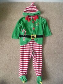 Elf outfit 12-18 months