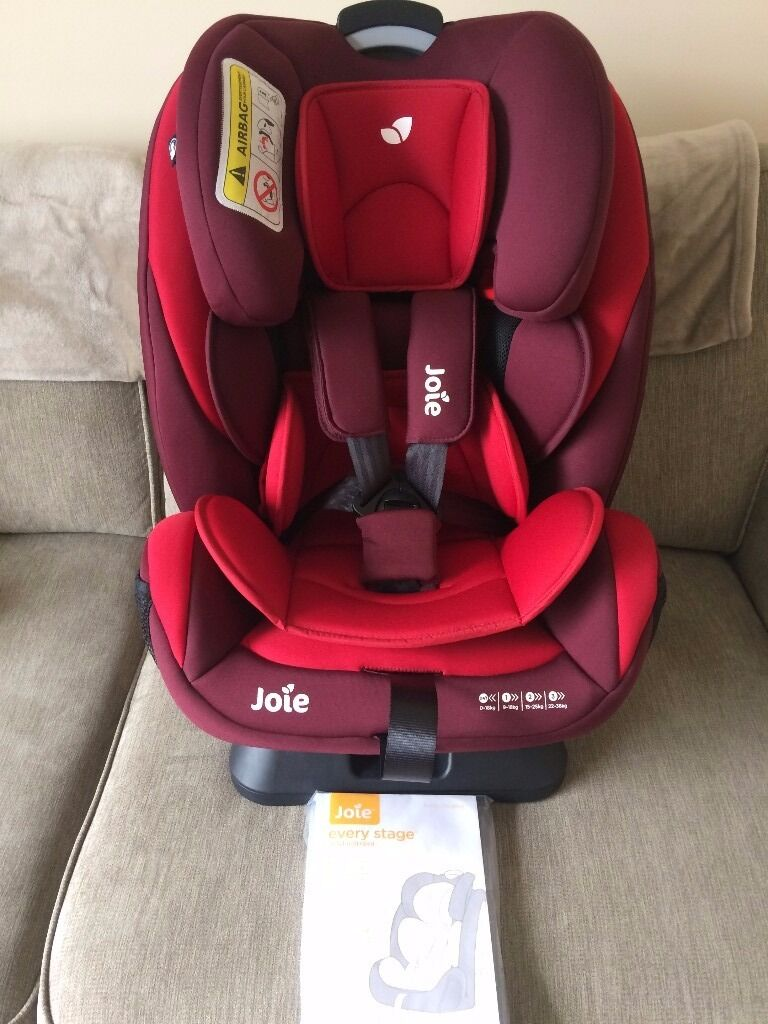 joie every stage 0 1 2 3 car seat in bungay norfolk. Black Bedroom Furniture Sets. Home Design Ideas