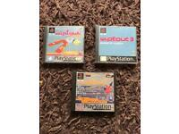 PlayStation 1 boxed wipeout classic games. Ps1