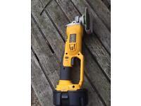 Dewalt 18 Angle grinder + one battery