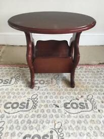 Table with base