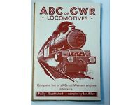 Set of 4 Ian Allen 'ABC' locomotive books: GWR; LMS; LNER; Southern Electrics