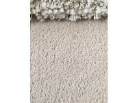Great quality wool carpet - with underlay too!