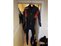 Mens Wet Suit Gul (Like New)