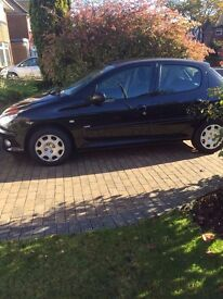 Peugeot 206 in great condition- Lady Owner