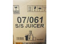 JUICER BRAND NEW AND UNOPENED IN BOX