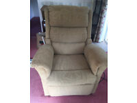 Rise and Recline armchair. Excellent condition
