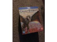 Game of Thrones Seasons 1-6 blu ray box set (Like New)