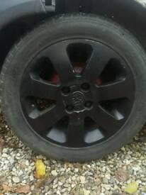 Vauxhall sxi rims 4 stud