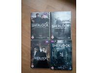Sherlock seasons 1-4 dvd