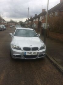 BMW 318 M SPORT DIESEL 2009 SILVER FSH EXCELLENT CONDITION