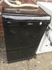 Beko dishwasher in Black