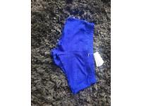 Brand New Calzedonia Electric Blue Lace Shorts