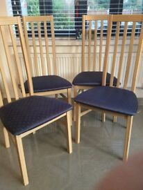 Dining room chairs really good condition