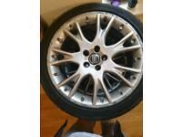 Alloy wheels BBS 4x18inch Volvo 5x108