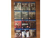 ps4 games bundle mafia 3 etc , all good working order, swap other games