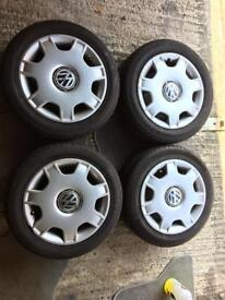 VW POLO 6n2 standard wheels with tyres