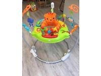 Roaring rainforest Jumperoo - like NEW