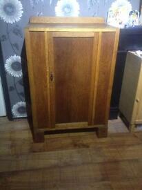 old retro cupboard