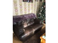2 seater sofa and two arm chairs for sale