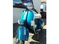 2013 LML 125 not Vespa or lambretta