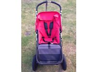 Red BUGABOO CAMELEON Pushchair