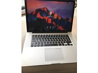 "Apple MacBook Pro Retina 15"" mid-2015 2.5GHz i7 16GB RAM 512GB SSD"