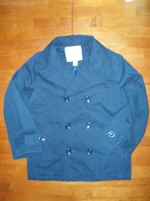 Toddler/Youth Boy's Navy Blue Pea Coat  NWT!!