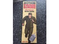 Bnib. Action man 50th anniversary. Collectors addition