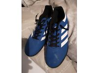 Adidas astroturf trainers Size 9