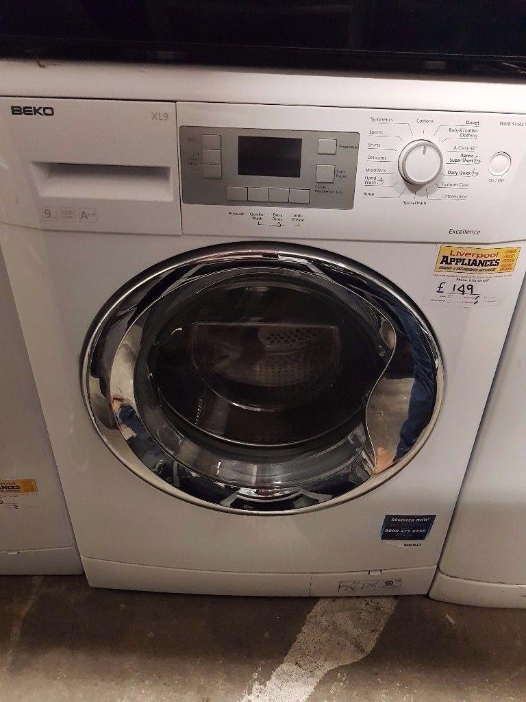 Beko Washing Manchine (9kg) (6 months warranty)