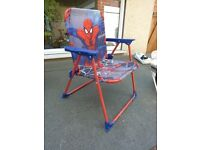 Toddler Spiderman chair.