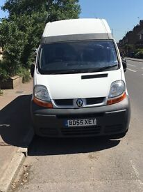 Renault traffic van high top short wheel base low mileage