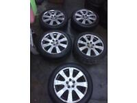 Toyota Alloy wheels 17 Inch 5