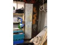 Metal storage cabinet for garage or even gun cabinet