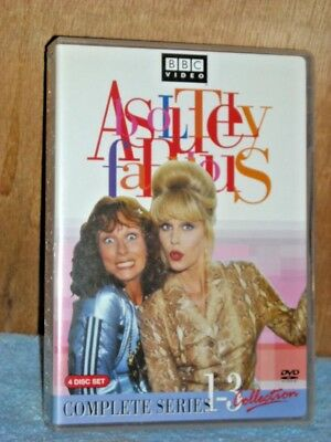 Absolutely Fabulous - The Complete Collection: Series 1-3 (DVD, 2006, 3-Disc)