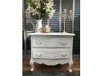 Stunning French rococo 2 drawer chest💞