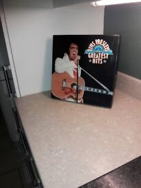 """ELVIS PRESEY'S 12"""" LPs GREATEST HITS BOX SET"""