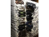 Mixed bag of women's shoes, sandals and boots size 5