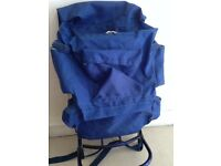 Large metal framed heavy duty rucksack