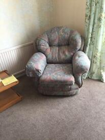 Two arm chairs really good condition
