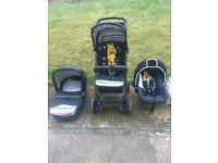 3 in 1 hauck travel system