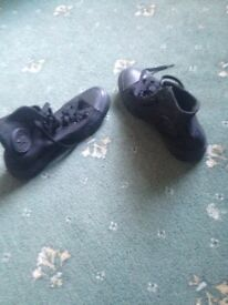 Trainers size 4 due to not fitting and good condition due to not wraring much