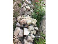 Bath rubble walling stone