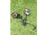 Universal towing mirrors caravan or trailer