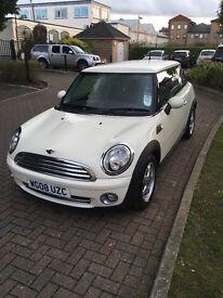 Mini one 2008 1.4l petrol hatchback manual white