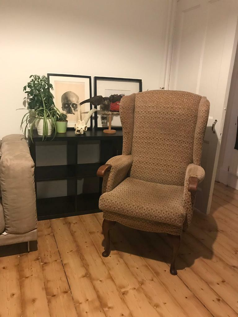 Wingback Armchair Super Comfy Unique Chair In Leith Edinburgh Gumtree