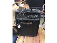 Behringer 90W bass amp (BXL900)