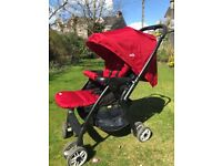 Joie pushcahir/buggy with raincover