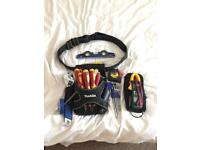 Tool pouch + Hand tools + Multimeter